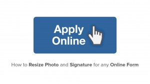 How to Resize Photo for any Online Application Form  2016  Easy way to Resize any photo for any  ...
