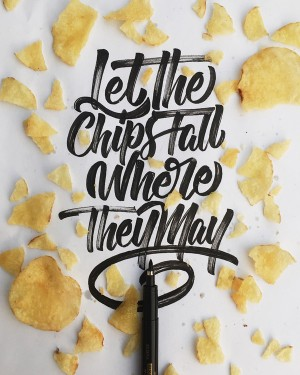Lettering by Colin Tierney