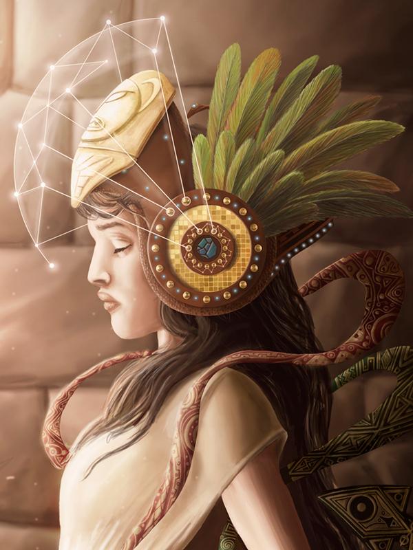 Inca priestess