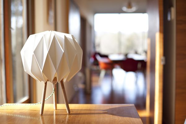 Lampo paper lamp