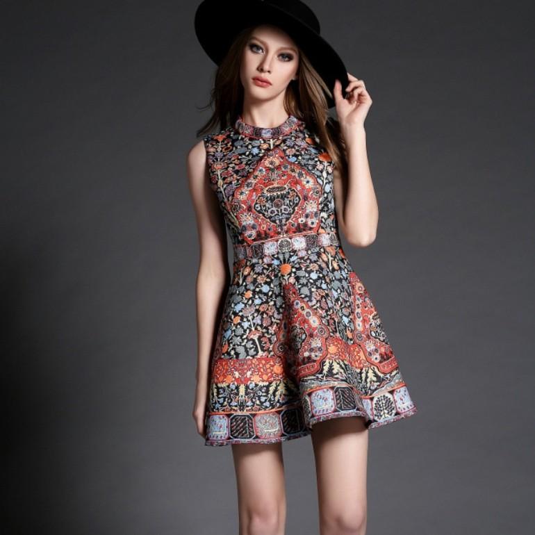 Spring Dress 2016 New High Quality Women Clothing