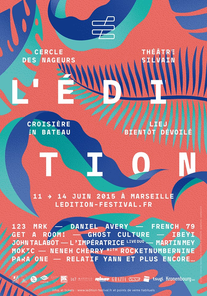 The festival Edition stirred Marseille from 11 to 14/06