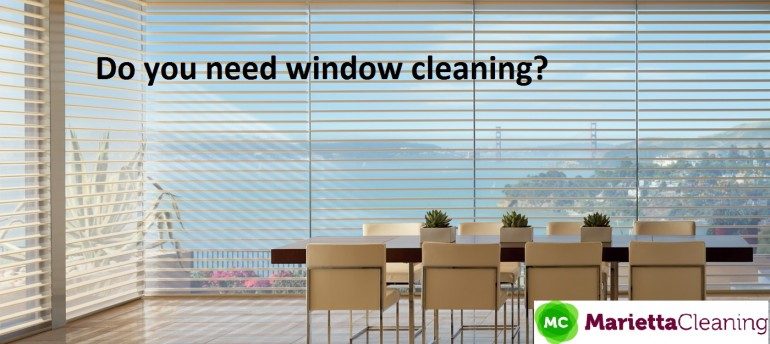 Powerful Window Cleaning in Marietta GA