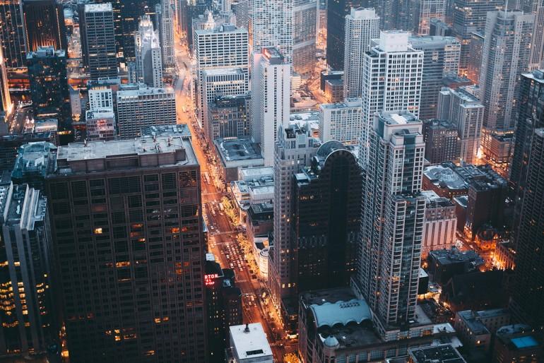 Cityscape by MICHAE L / Michael Salisbury