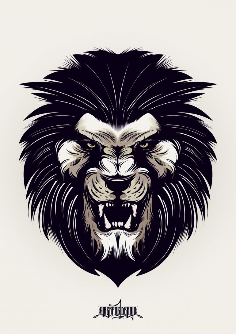 Angry Lion