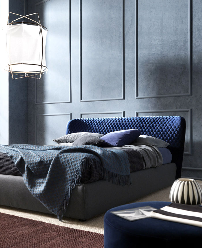 Corolle Bed by Bolzan Letti