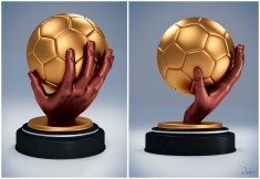 Handball Trophy Design