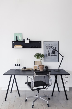 Interior Captured by Romain Ricard / Home office