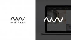 New Wave logo | Hotel & Spa