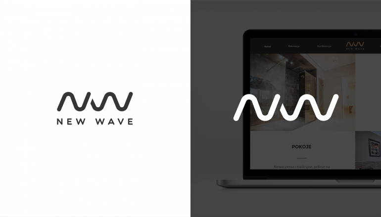 New Wave logo | Hotel & Spa