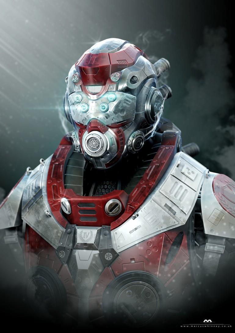 Mech Armour Concept