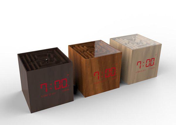 NEMO maze alarm clock