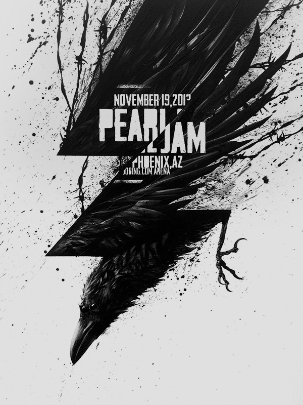 PEARL JAM poster, Phoenix 2013