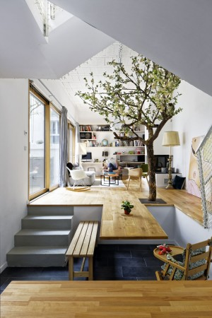 private house – Paris 20th – Hardel LeBihan Architects +