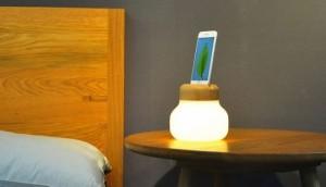 The Mushroom Lamp
