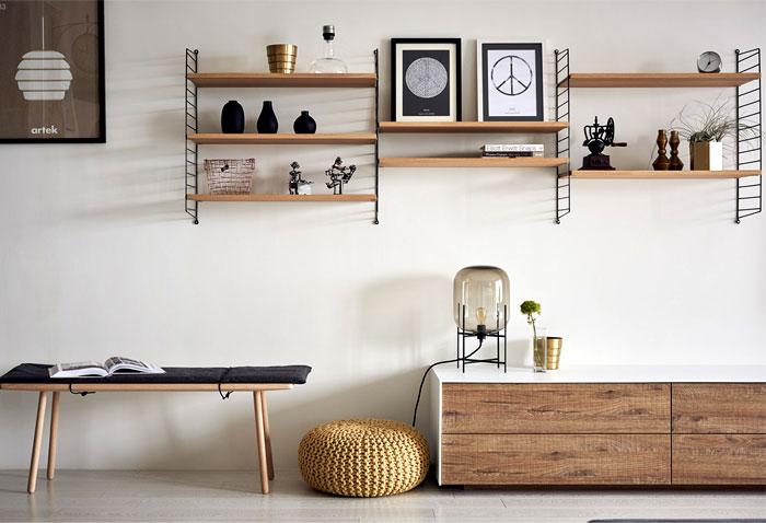 Fresh Apartment Decor by Nordico