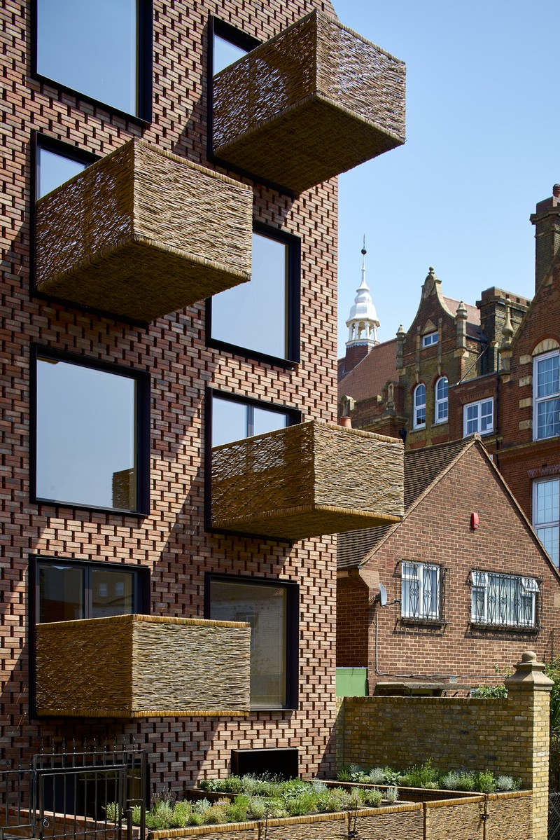 Barretts Grove Apartment Building in London
