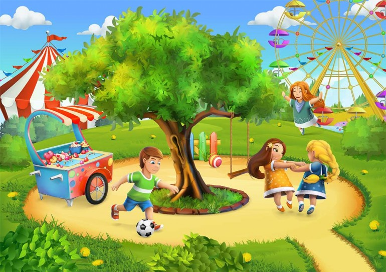 Get visually appealing book illustration services for children books, comic books, picture books ...