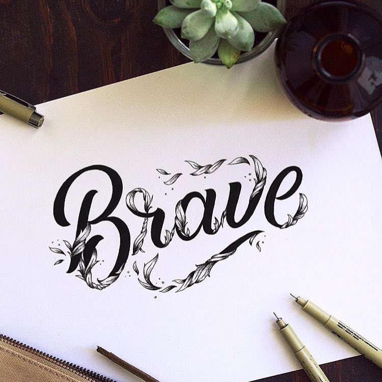 Brave by @briannaailie