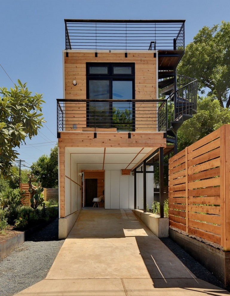 Haskell Health House Urban Garden Home In Austin On