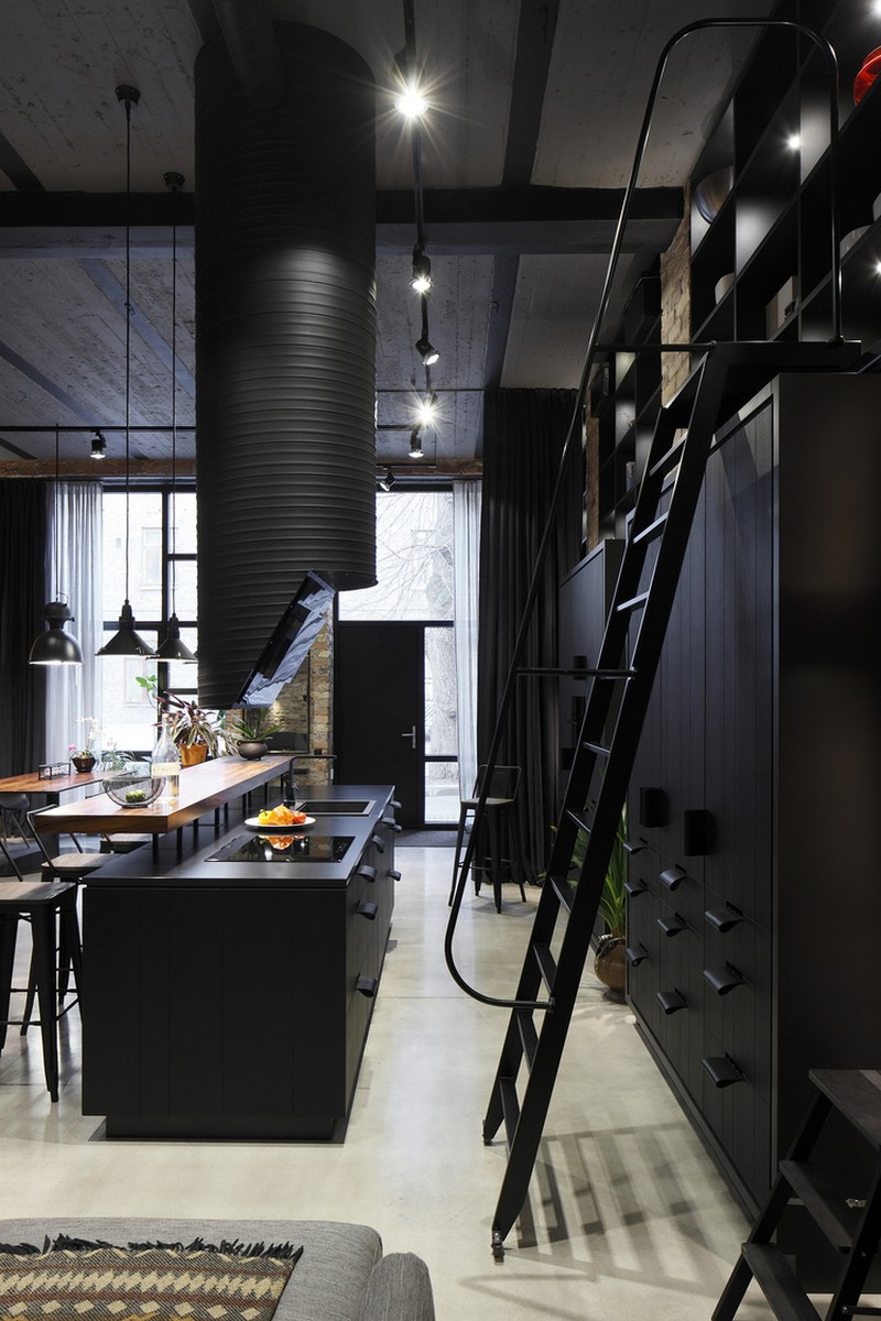 Industrial Style Apartment with Scandinavian Charm / Open AD