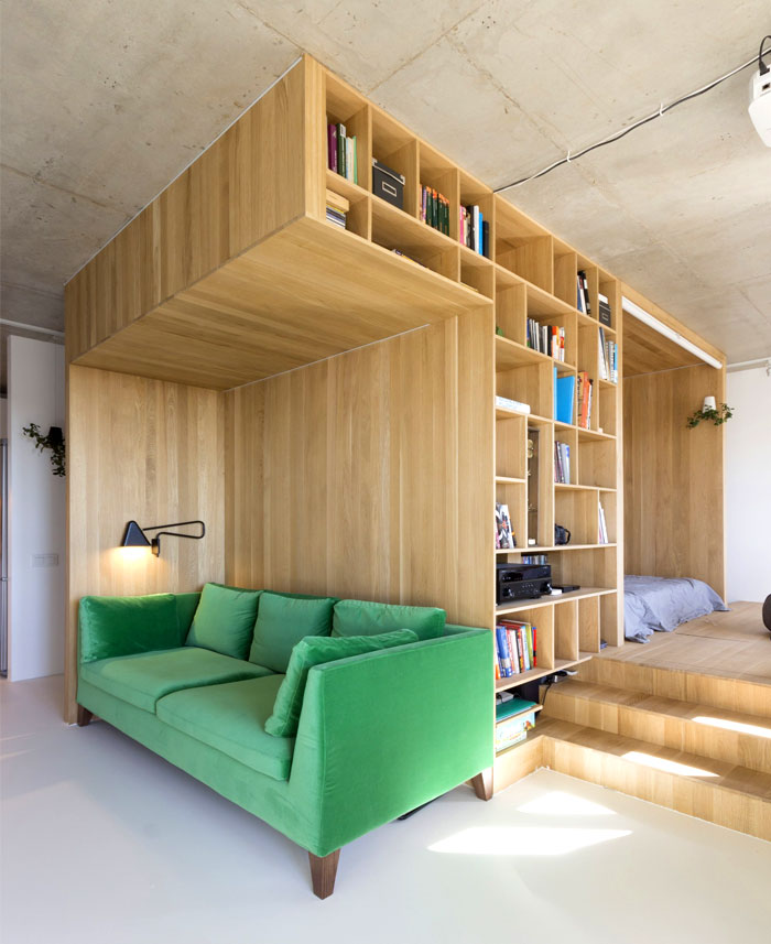 Urban Apartment by Ruetemple