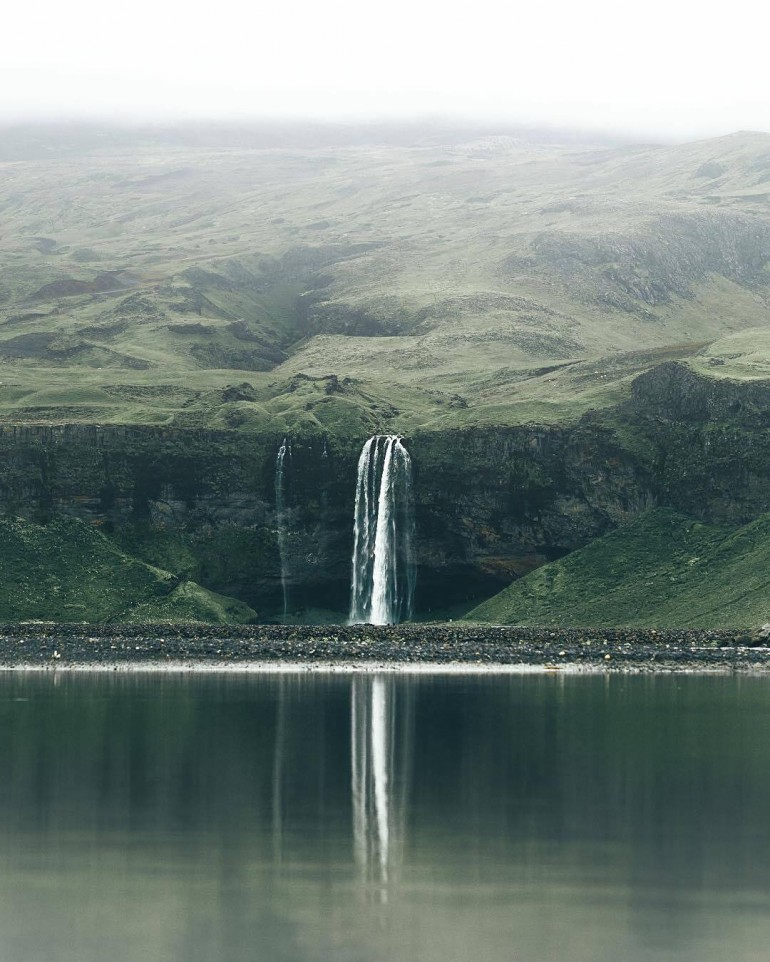 Exploring Seljalandsfoss in Iceland