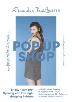 Alexandra Verschueren Pop Up shop