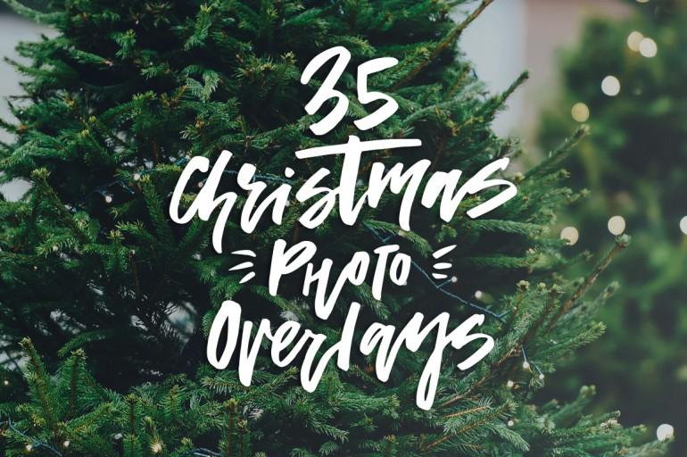 Christmas Photo Overlays
