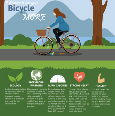 5 Reasons to Ride Your Bicycle More – Infographic