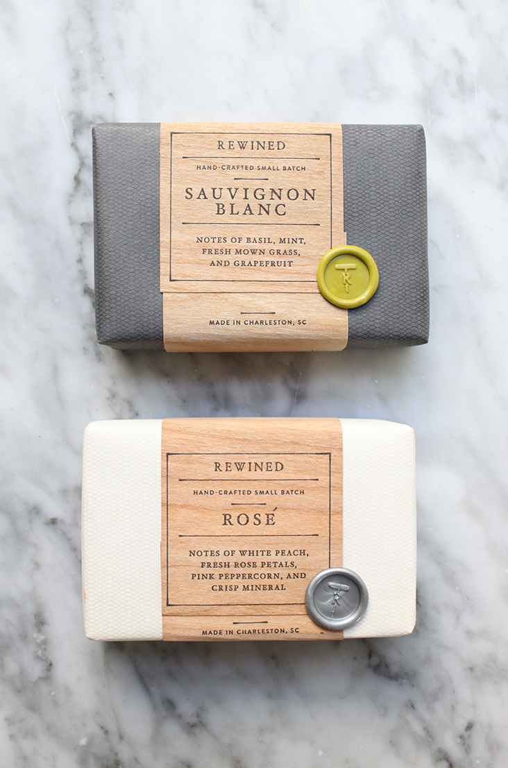 Rewined Soap