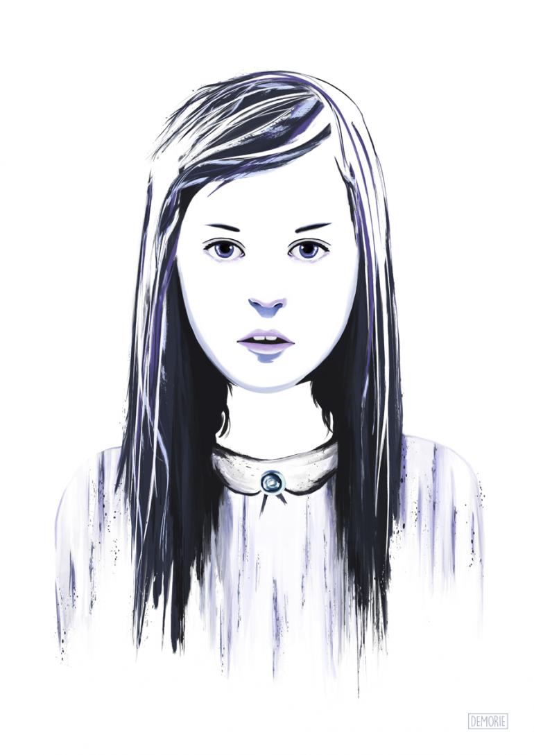 """Digital Art – """"Say It Again"""". Digital Watercolor Artwork. Portrait Artworks. I ..."""