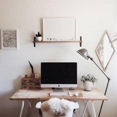 Dreamy desk space
