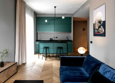 Apartment in Grey Tones by AKTA