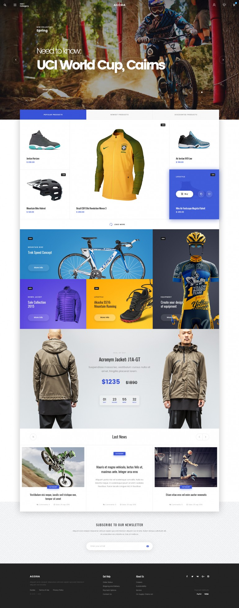 Agora – eCommerce Template
