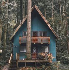 weekend's cabin ?