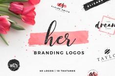 Her – Branding logo templates
