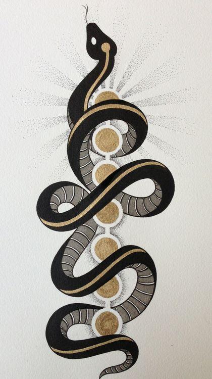 Invoke the Kundalini Serpent