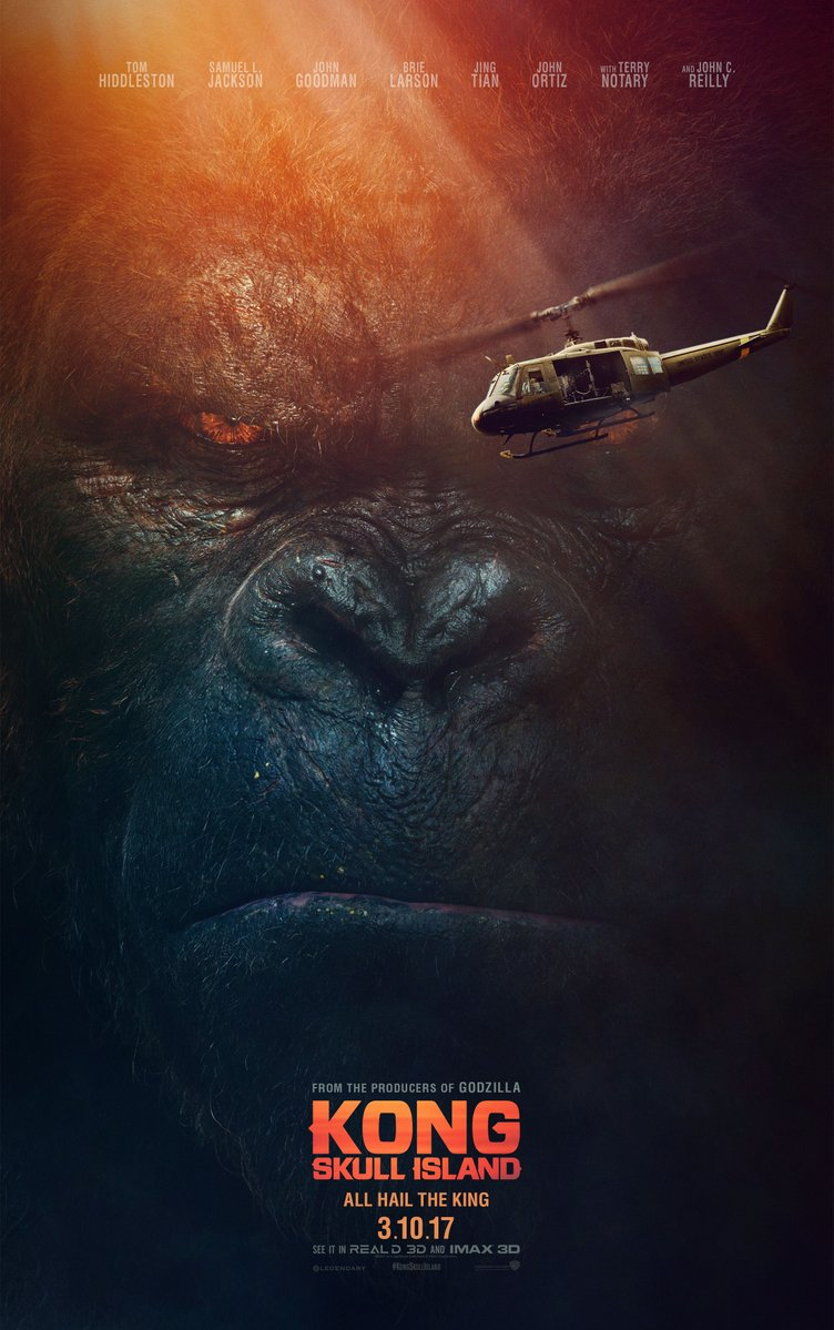 The Biggest, Baddest Ape is Back in the New Kong: Skull Island Trailer