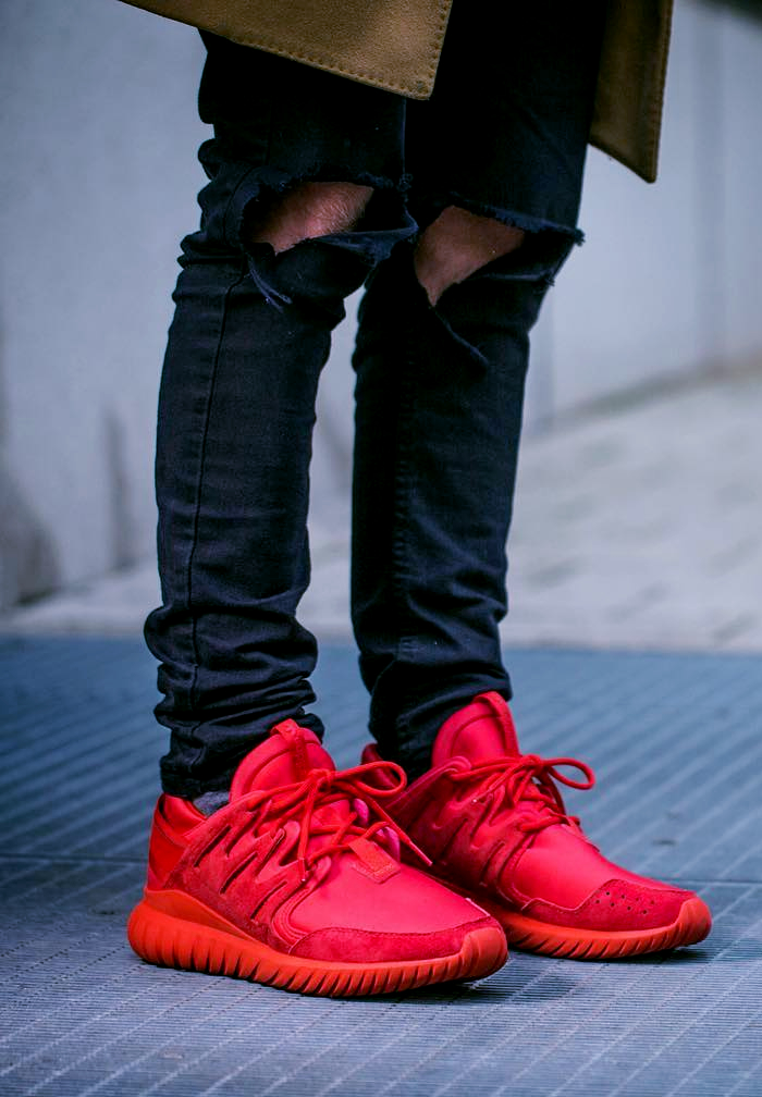 Adidas Tubular Nova 'Triple Red'