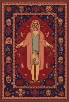 """""""That rug really ties the room together, does it not?"""" – The Dude"""