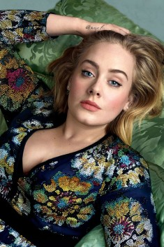 "Adele, by Annie Leibovitz in ""The Voice"" for Vogue US"