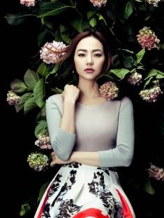 Minh Hang – Elle Vietnam, Cover, February 2015