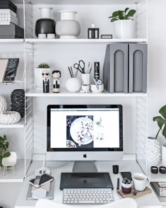 Home Office – Scandinavian Workspace