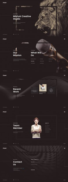 Mishuk – Modern and Creative design
