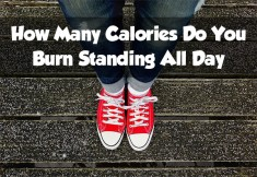 How Many Calories Do You Burn Standing All Day