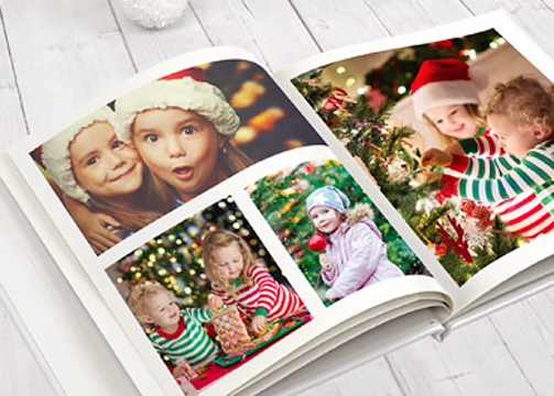 A beautiful photo album for a gift idea. A photo album is a book gathering a set of photographs. ...