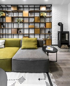 Stylish City Dwelling in Vilnius
