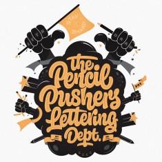 Pencil Pushers Lettering Dept