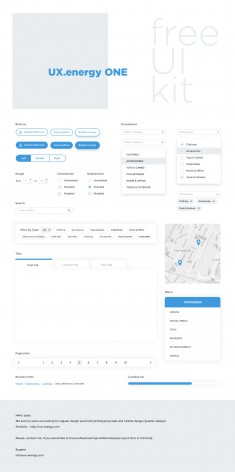 UI kit ONE